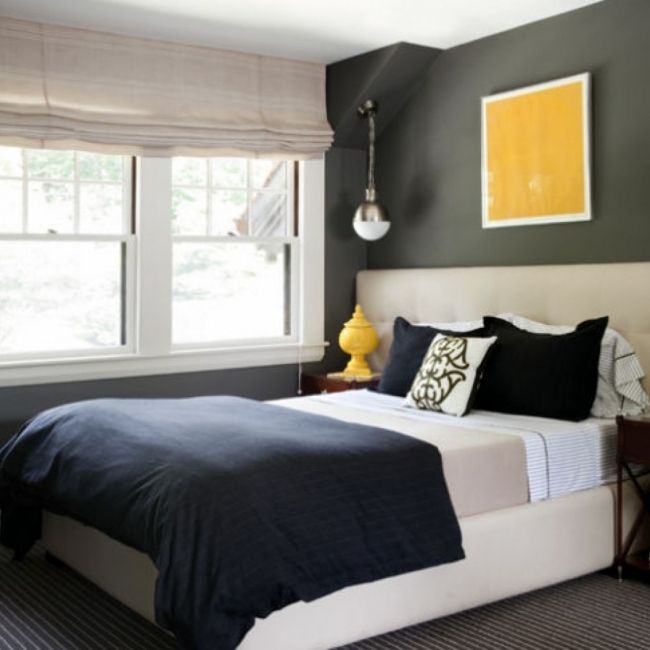 Sherwin Williams Amazing Gray Small Bedroom Paint Color Ideas
