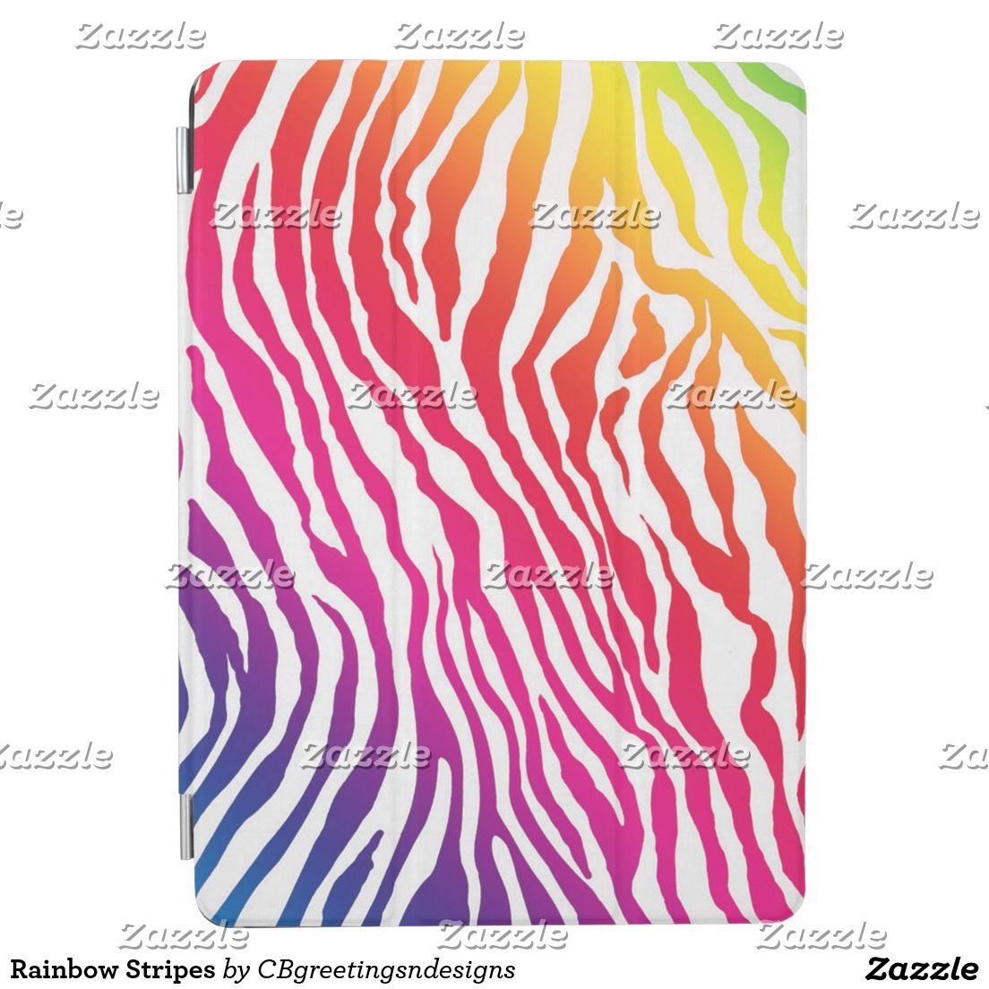 Rainbow Stripes iPad Air Cover