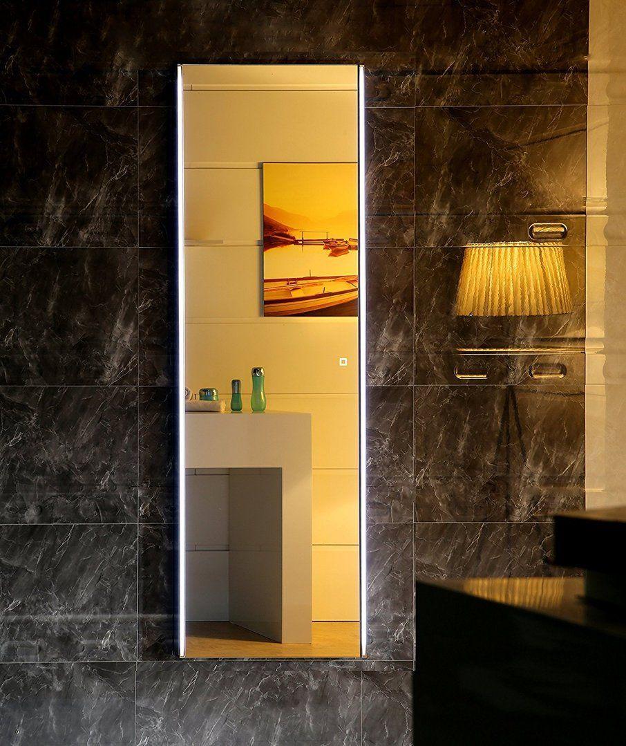 Led Lichtspiegel Parma Mit Touch Schalter Badezimmer Badspiegel Inneneinrichtung Bathroom Lichtspiegel Lightedmirror Badau Mit Bildern Lichtspiegel Led Led Licht
