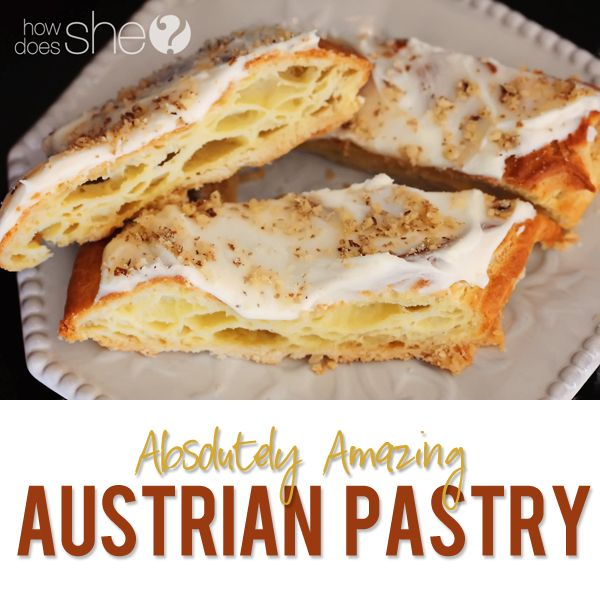 Austrian Pastry Recipe Pastry recipe, Holidays and Recipes - reddy küchen wien