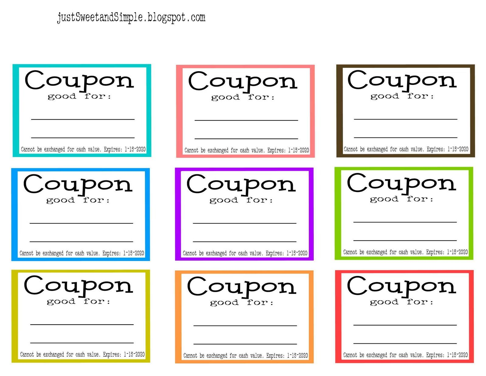 coupon books for husband