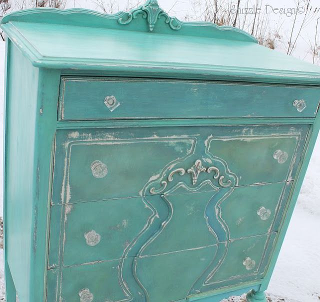 Turquoise Highboy Dresser Home Pinterest Colours Dressers