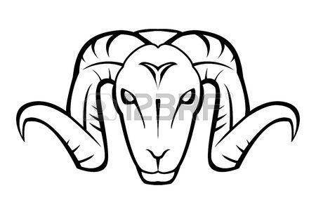 Goat Face Free Clip Art Art Vector Art