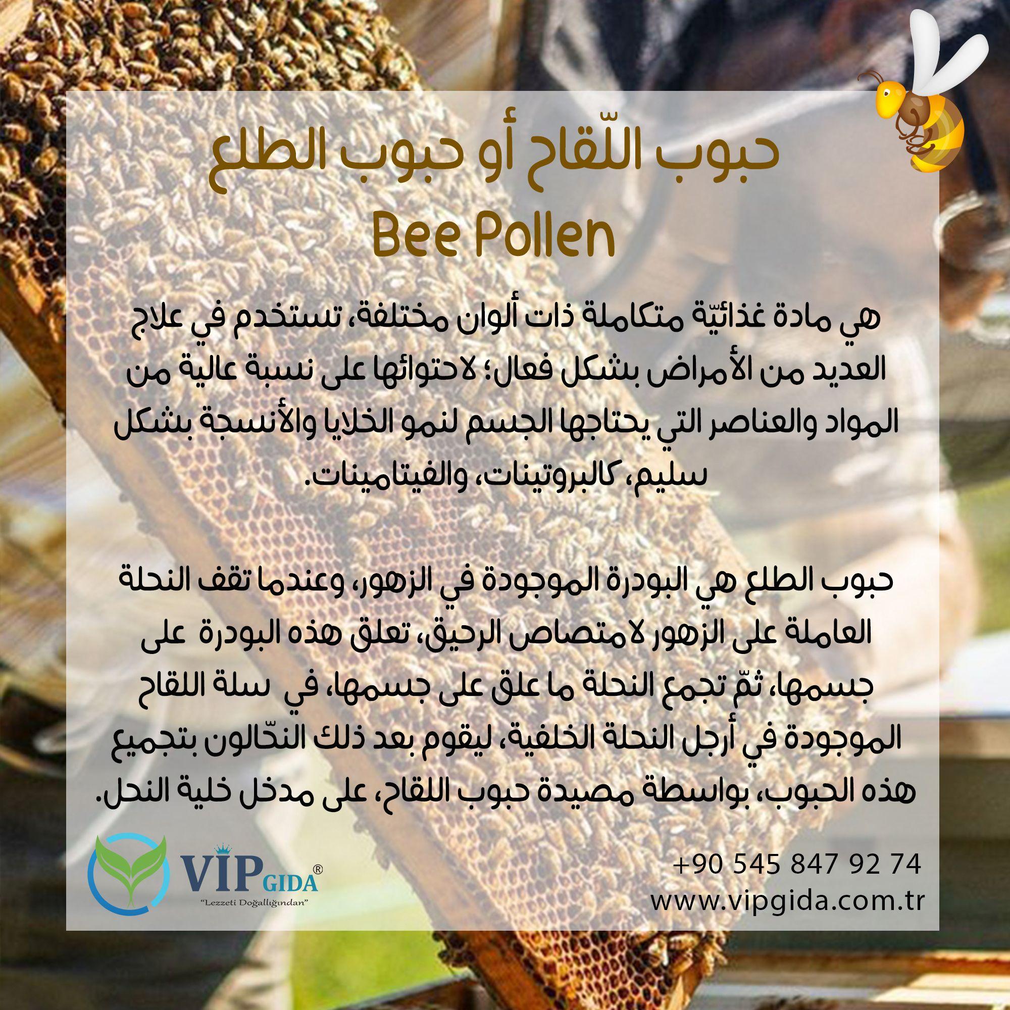الأغذية الطبيعية حبوب الل قاح Pollen Gida