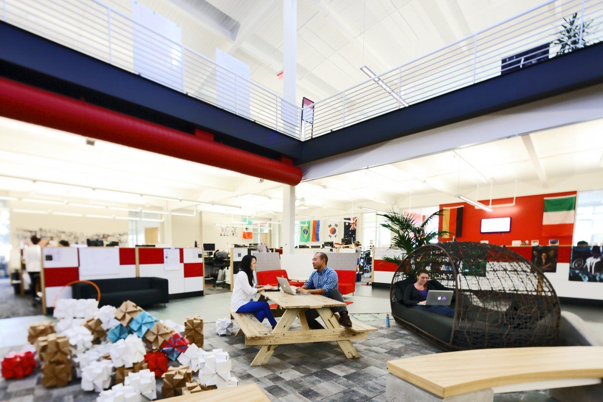 office space you tube. Collaboration Is At The Heart Of All YouTube Projects, And Office Space Supports It You Tube Pinterest