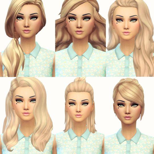 Sims 4 cheveux gratuit