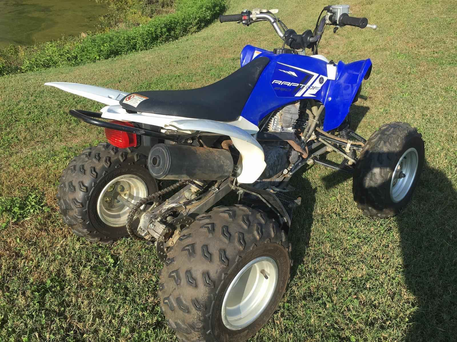 Used 2013 Yamaha Raptor 250 Atvs For Sale In Indiana 2013 Yamaha