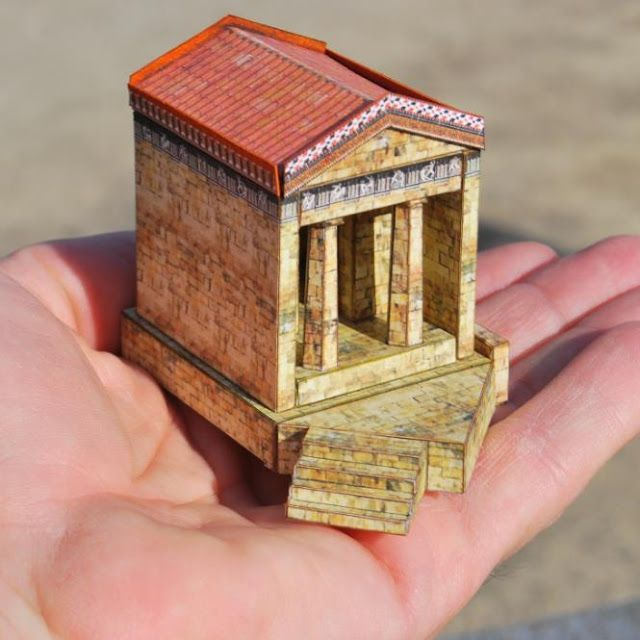 PAPERMAU: The Athenian Treasury Paper Model