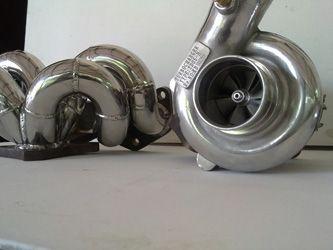 Toyota starlet turbo upgrade WEPR hybrid TD04 kit- this turbo