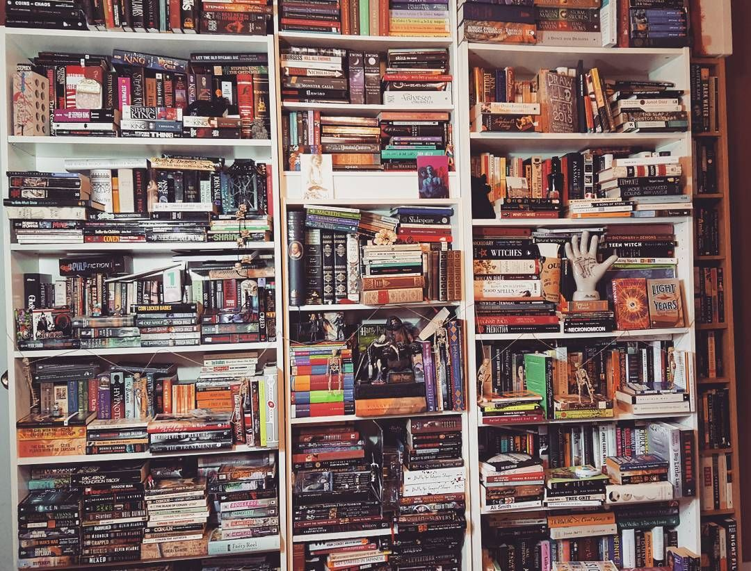 @shelflifebooks I need more shelf space but I 💓 my books. Awesome contest idea 😃 #shelflifebooks #shelfie #bookstagram #bookporn #bookcollection #yyc #shareyourshelves