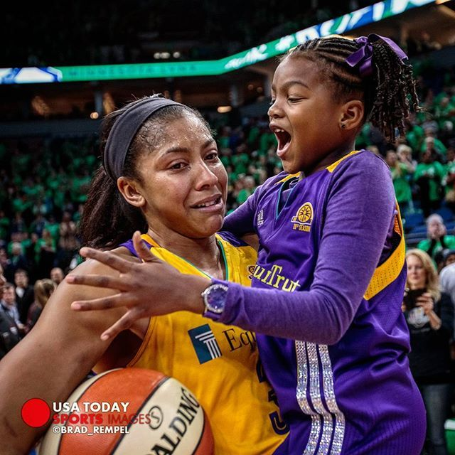 Candace Parker Daughter