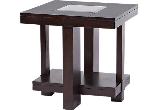 Amazing Lochlin Walnut End Table Daughters New Living Room Side Spiritservingveterans Wood Chair Design Ideas Spiritservingveteransorg