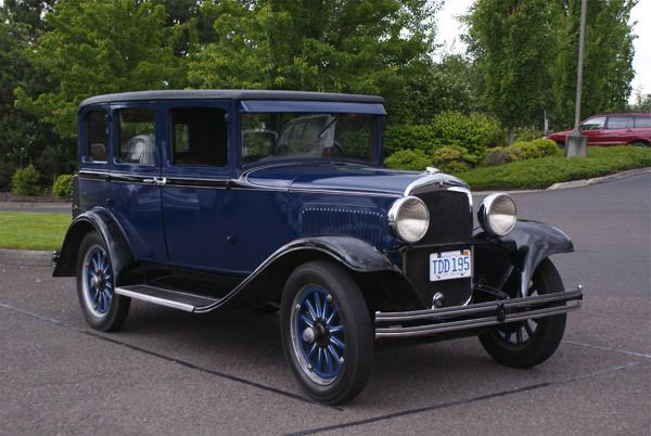 1929 plymouth u 4 door sedan chrysler corp autos and