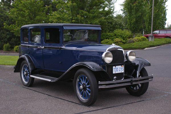 1929 Plymouth U 4 Door Sedan Classic Cars Plymouth Sedan