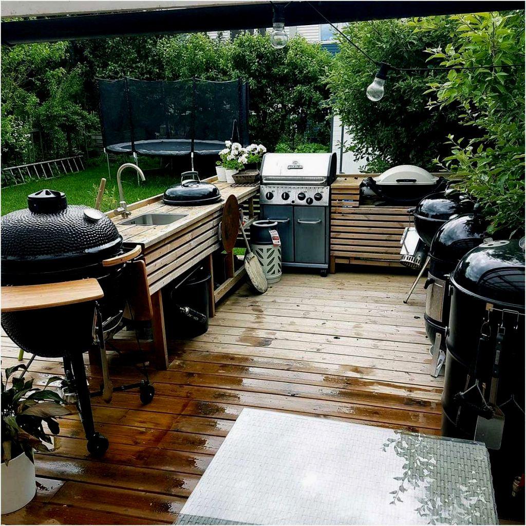 Enorm Garten Kuche Bild Outdoor K C3 Bcche Holz Arbeitsplatte Schaut Toll Aus Das Ist Meine Gril Outdoor Kuche Selber Bauen Kochen Im Freien Kuche Selber Bauen