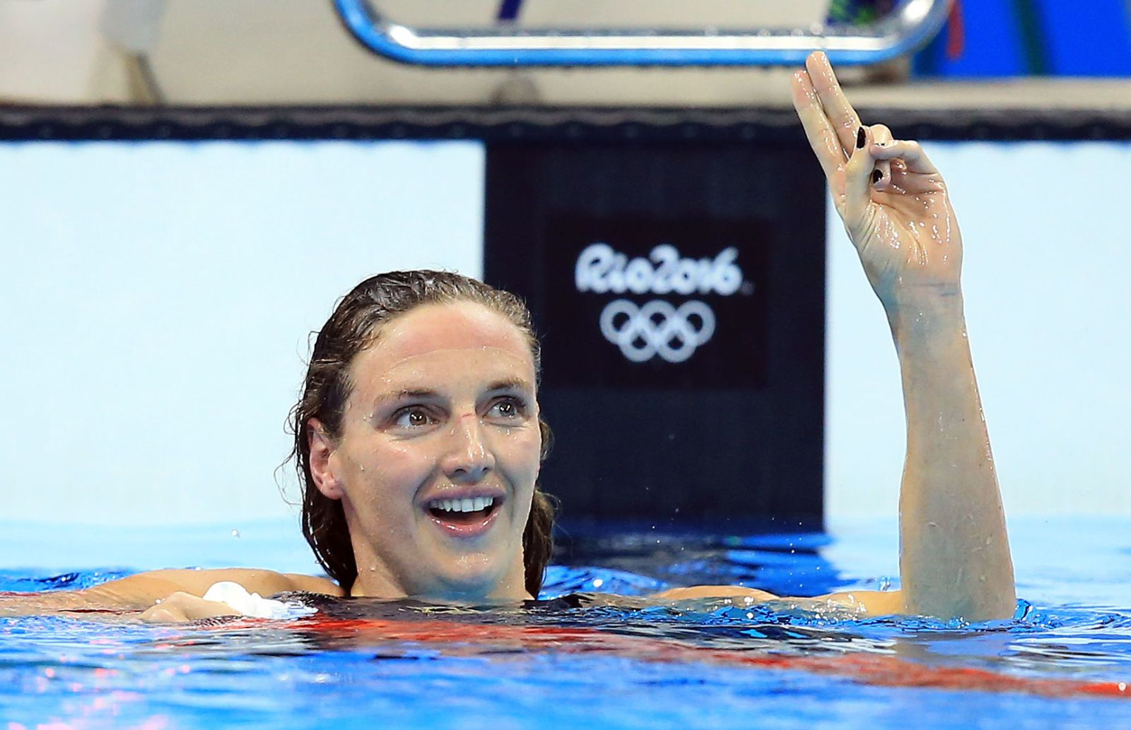 Olympic Commentator Is In Hot Water After Crediting This Swimmers World Record to Her Husband
