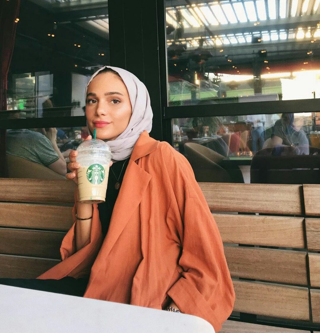 Pinterestthanaamaged (Dengan gambar)   Casual hijab outfit ...