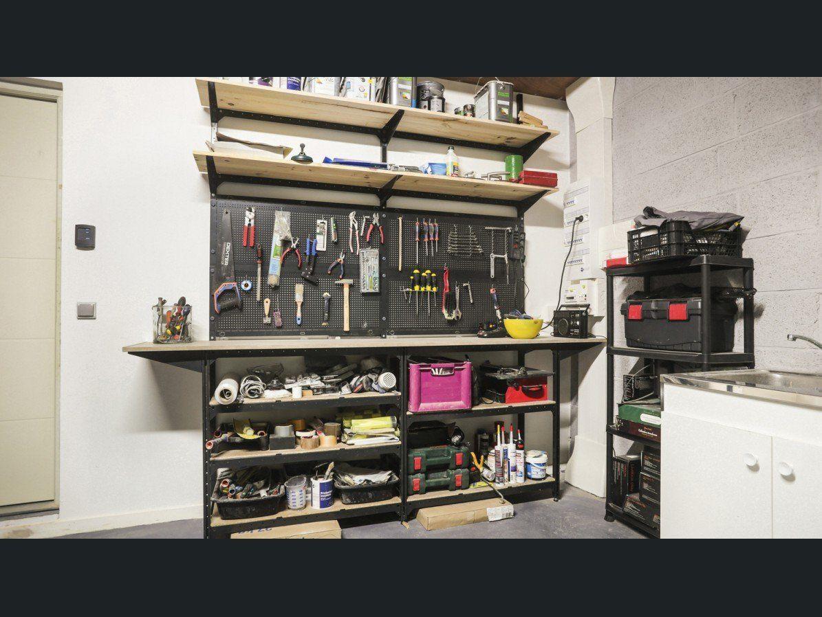 atelier cave garage spaceo projets essayer rangement utilitaire amenagement garage et atelier. Black Bedroom Furniture Sets. Home Design Ideas