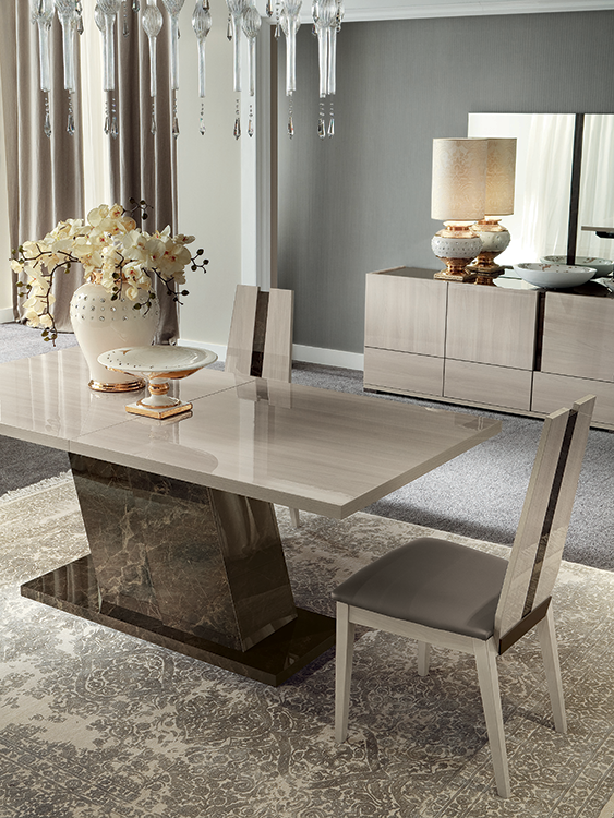 Teodora Dining Room Collection Luxury Dining Room Dining Table Design Modern Contemporary Dining Room Sets