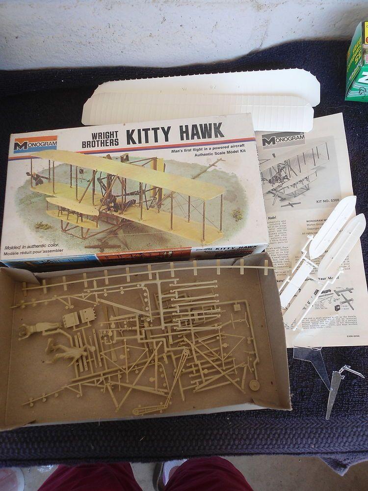 Wright Brothers Kitty Hawk---Plastic Model Kit Monogram #5300
