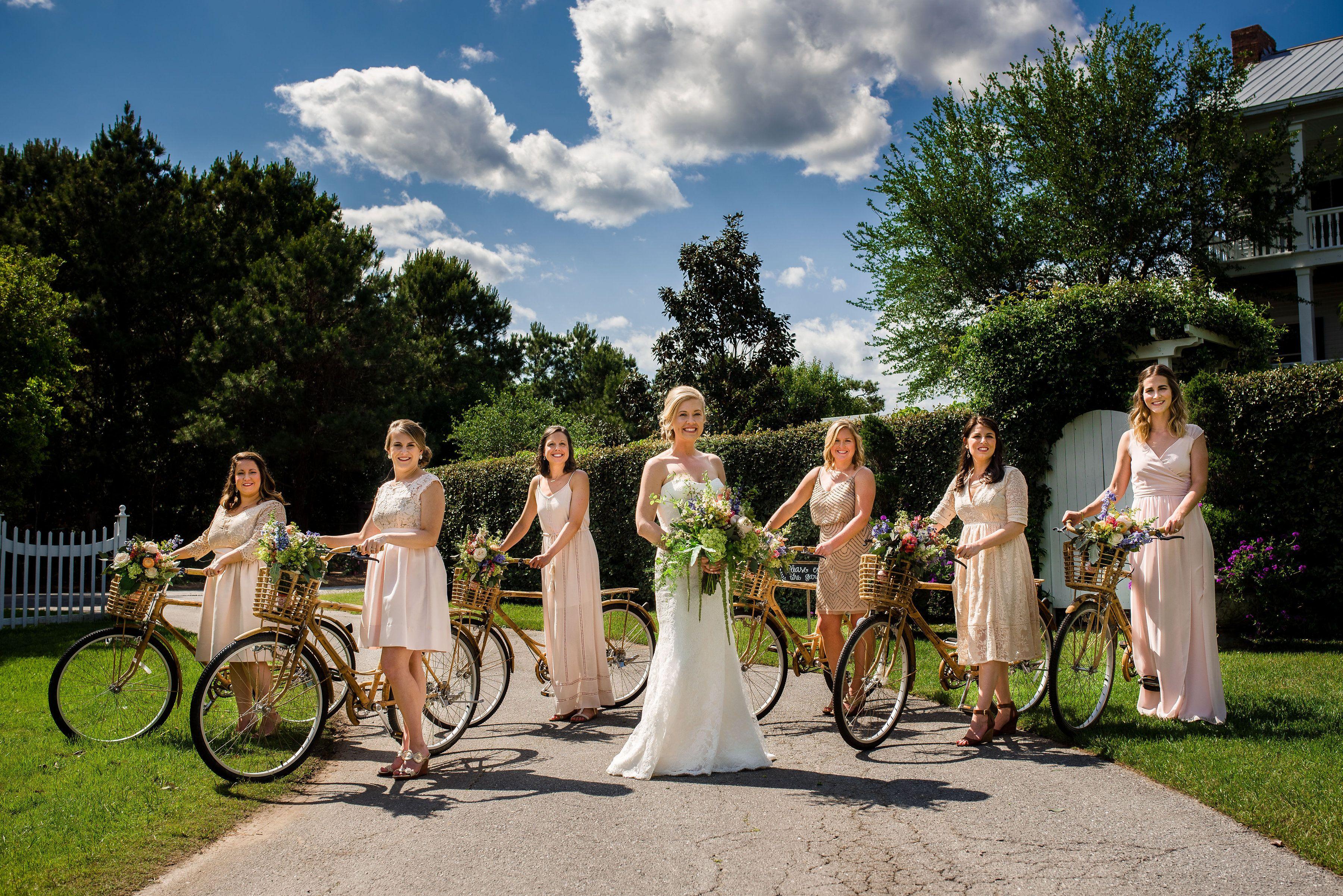 Bamboo Bikes At Watson House!