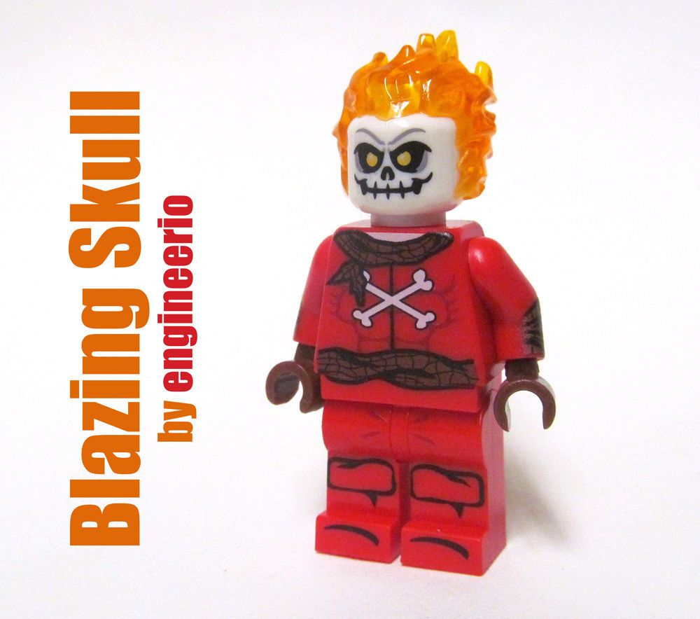 Ferro Lad Printed On LEGO Parts Custom Designed Minifigure