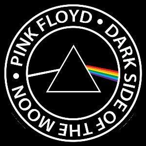 Pink Floyd Logo Stiker Stensil Gambar Dinding