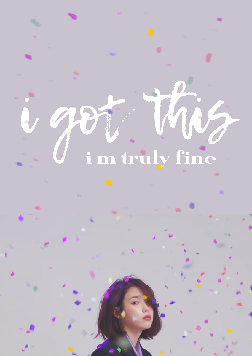 Iu Palette Tumblr Kpop Wallpaper Kpop Quotes Kpop