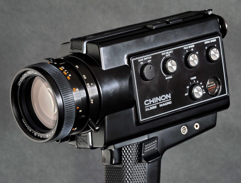 Chinon Xl 555 Super 8 Zoom Movie Camera W 8 40mm F 1 2 Macro