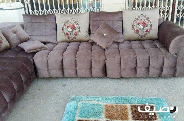 Lt Div Gt Lt Div Gt Lt Span Gt كنب حرف ال 3 في 4 شبه جديد 700 Lt X2f Span Gt Sectional Couch Couch Decor