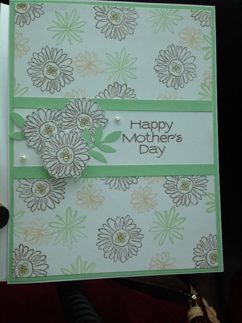 Mother's Day card 2014