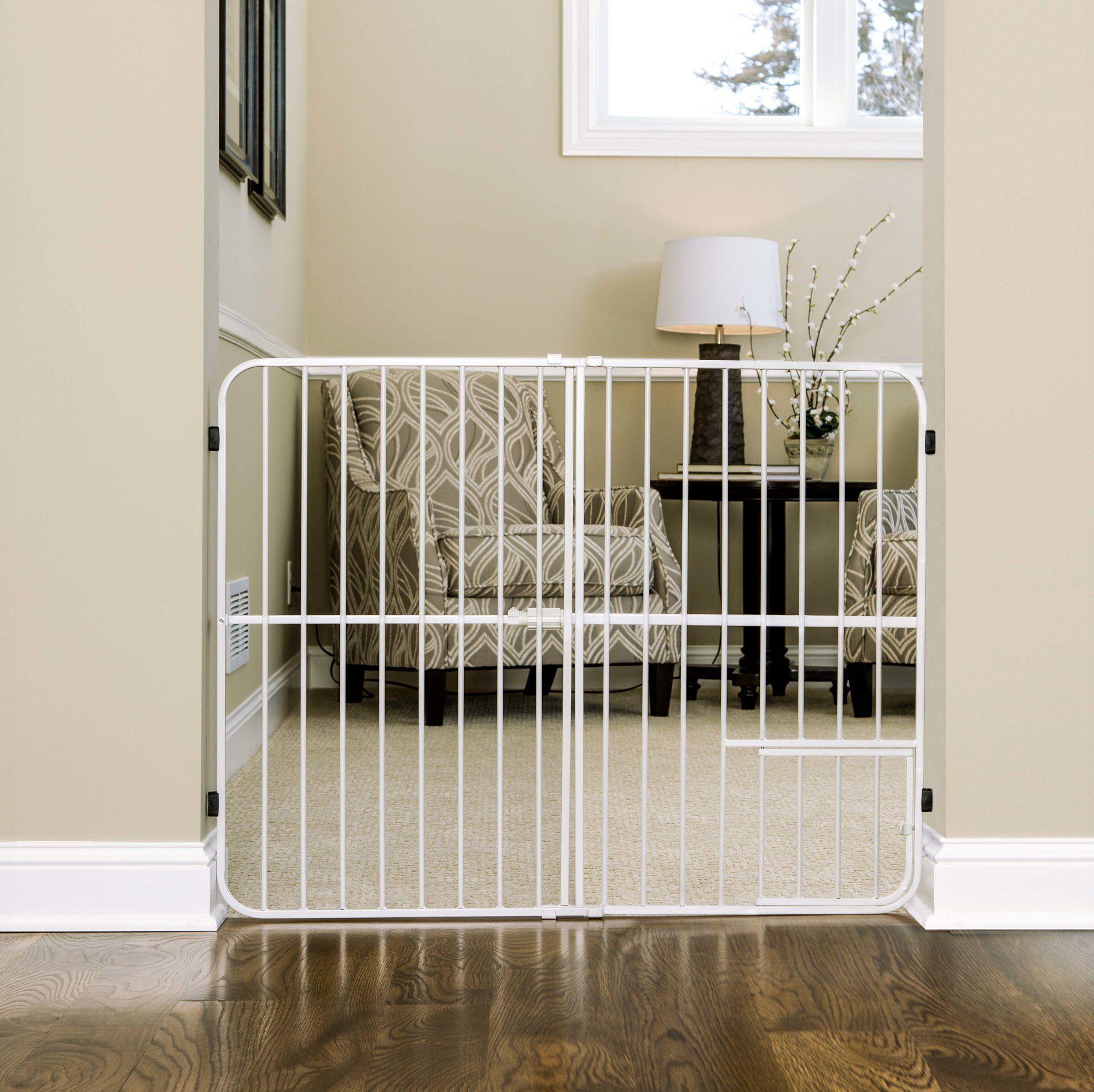 Expandable Pressure Mounted Pet Gate Pet gate, Pet gate