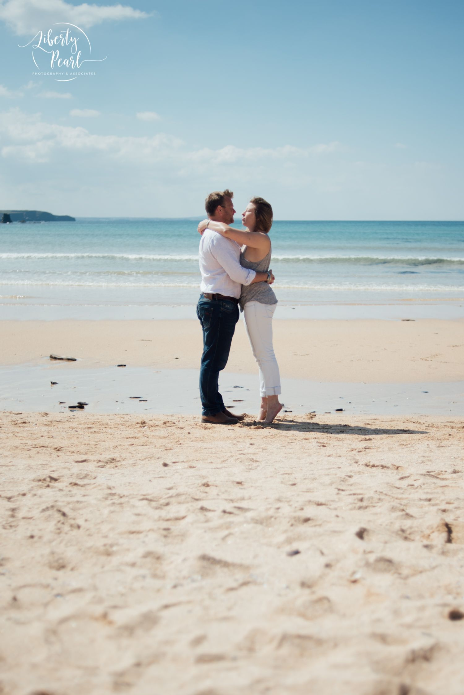 Pre wedding beach  Pre Wedding Shoot  Engagement Session Constantine Beach Cornwall