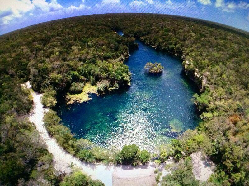 Aerial View Cenote Tankah Tulum Tankah Pinterest Tulum Tulum Ruins And Quintana Roo