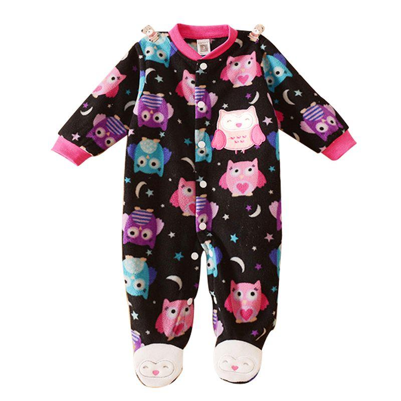 Barato Unisex Do Bebê Roupa Do Bebê Da Menina do Menino Macacão Patas  Animais… 36e470991c3