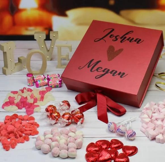New Relationship Birthday Gift Idea For Him Sweet Box Valentines Gifts For Boyfriend Valentines Presents For Boyfriend