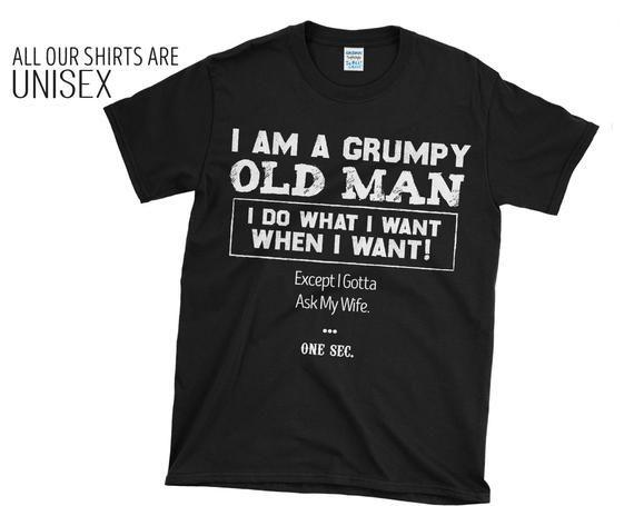 80 Years Old Shirt Grumpy Old Men Funny Grandpa Tee 50 Years   Etsy