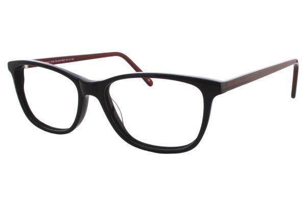 7e5f3f231b Black Red Designer Eyeglasses