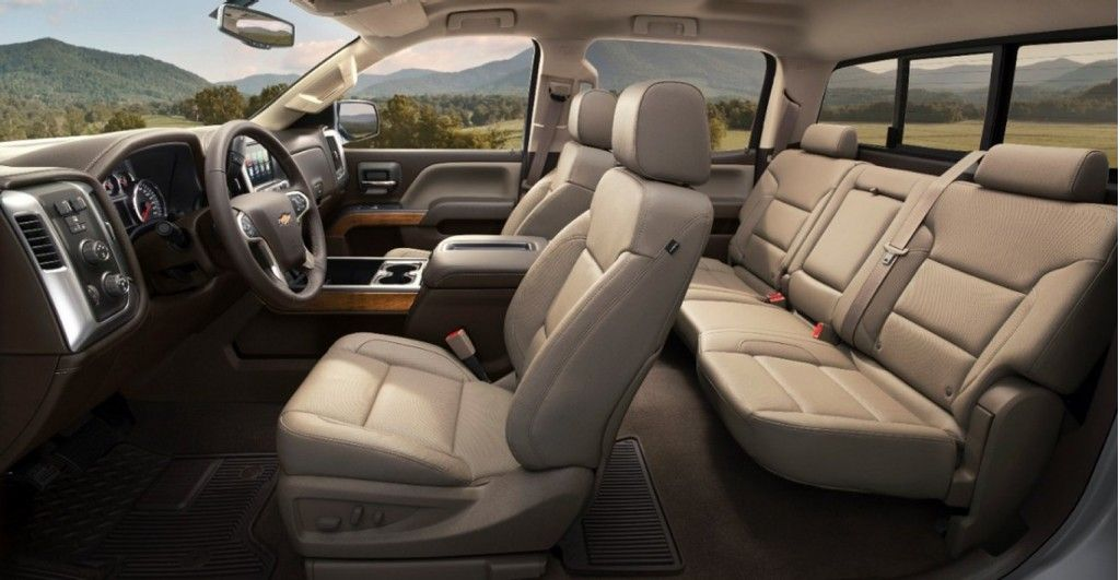 2015 Chevrolet Silverado Interior Seats
