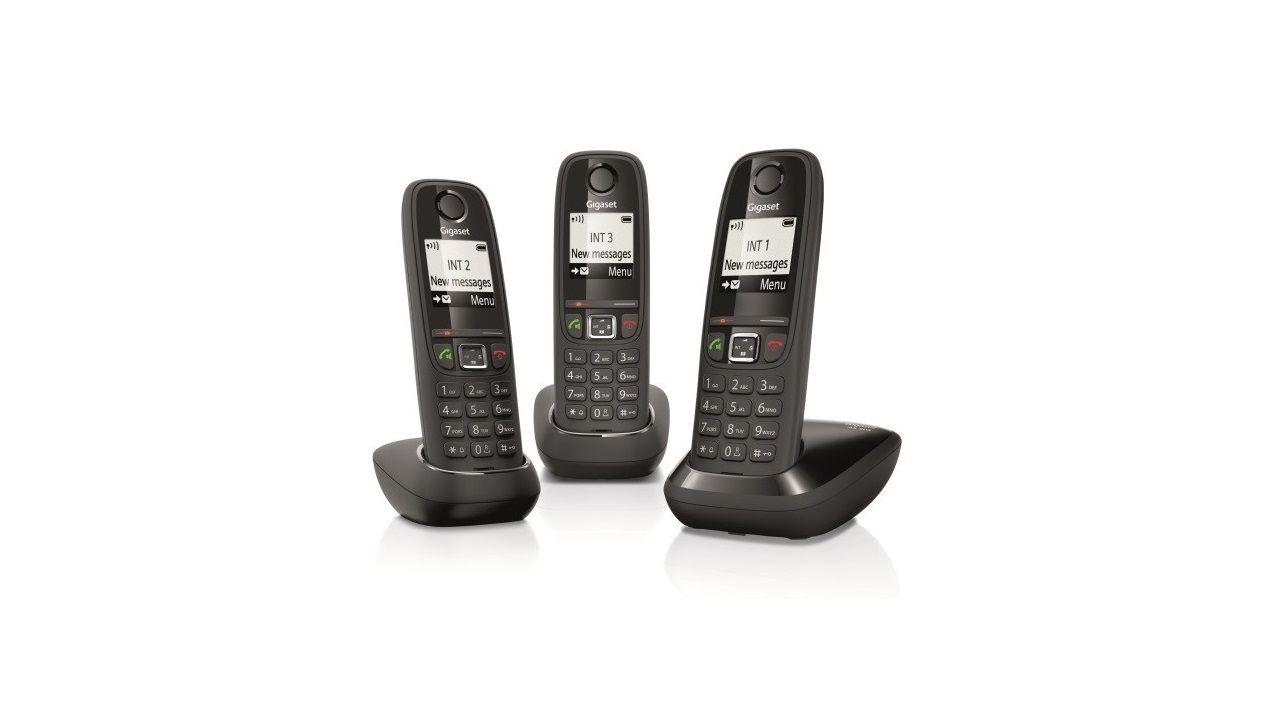 Gigaset As405 Telefono Fijo Inalambrico Con Un Rendimiento Solido
