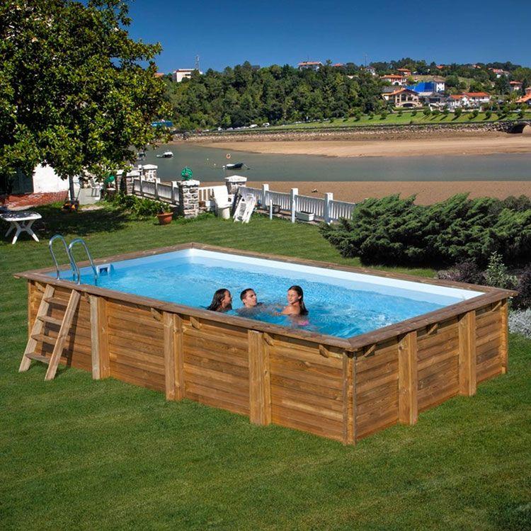 Piscine Fuori Terra Piccole Rettangolari.20 Modelli Di Piscine Fuori Terra In Legno Fun In The Sun