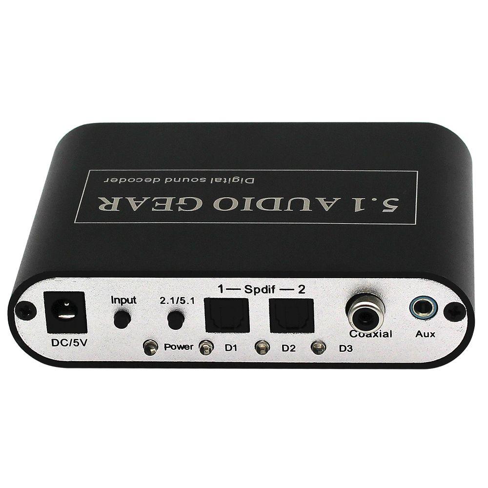 High Quality Digital 5 1 Audio Gear Decoder DTS/AC-3/6CH Digital to