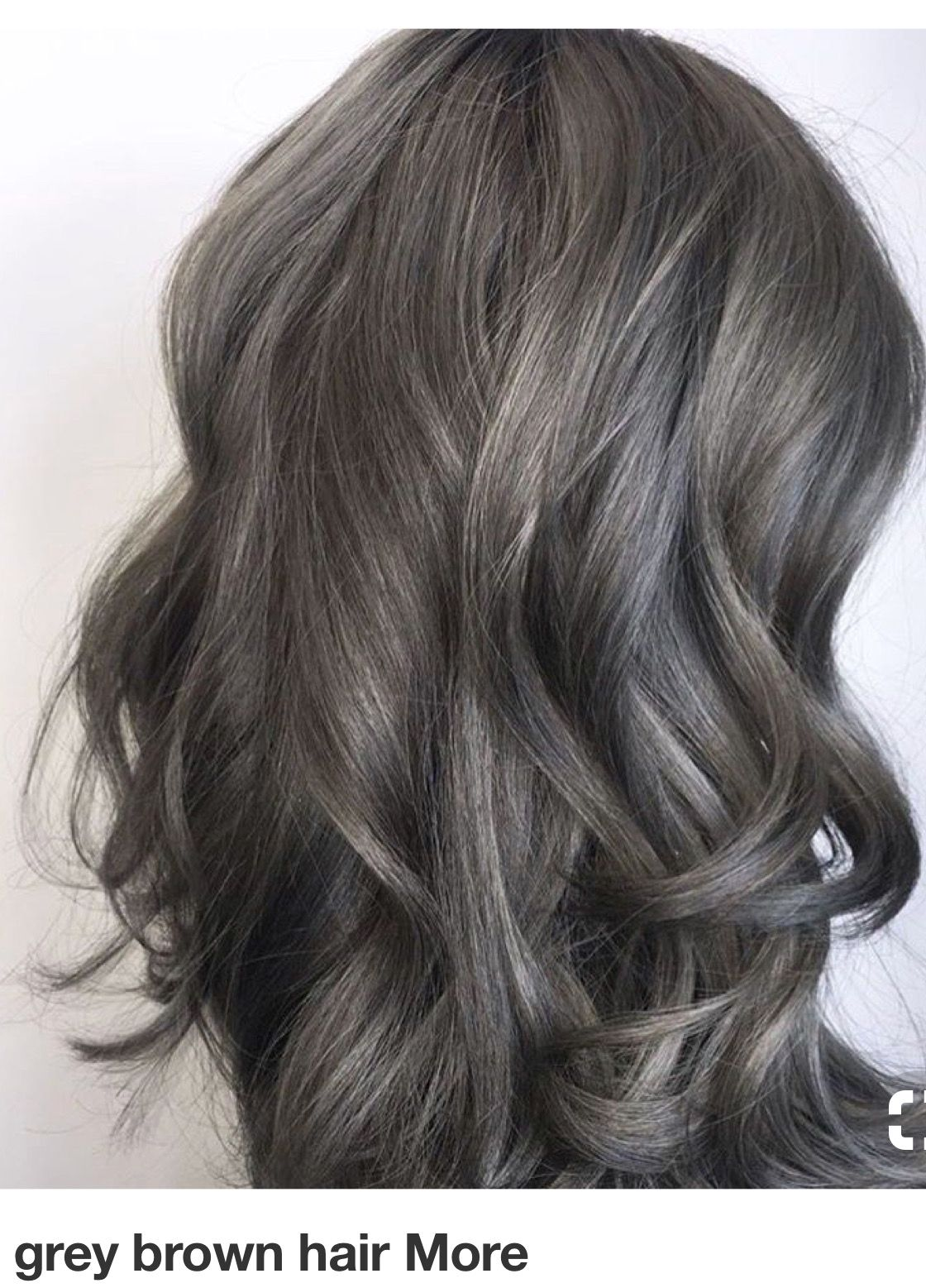 Pin By Diana Packer On Hair Gray Hair Highlights Hair Styles Ash Brown Hair Color