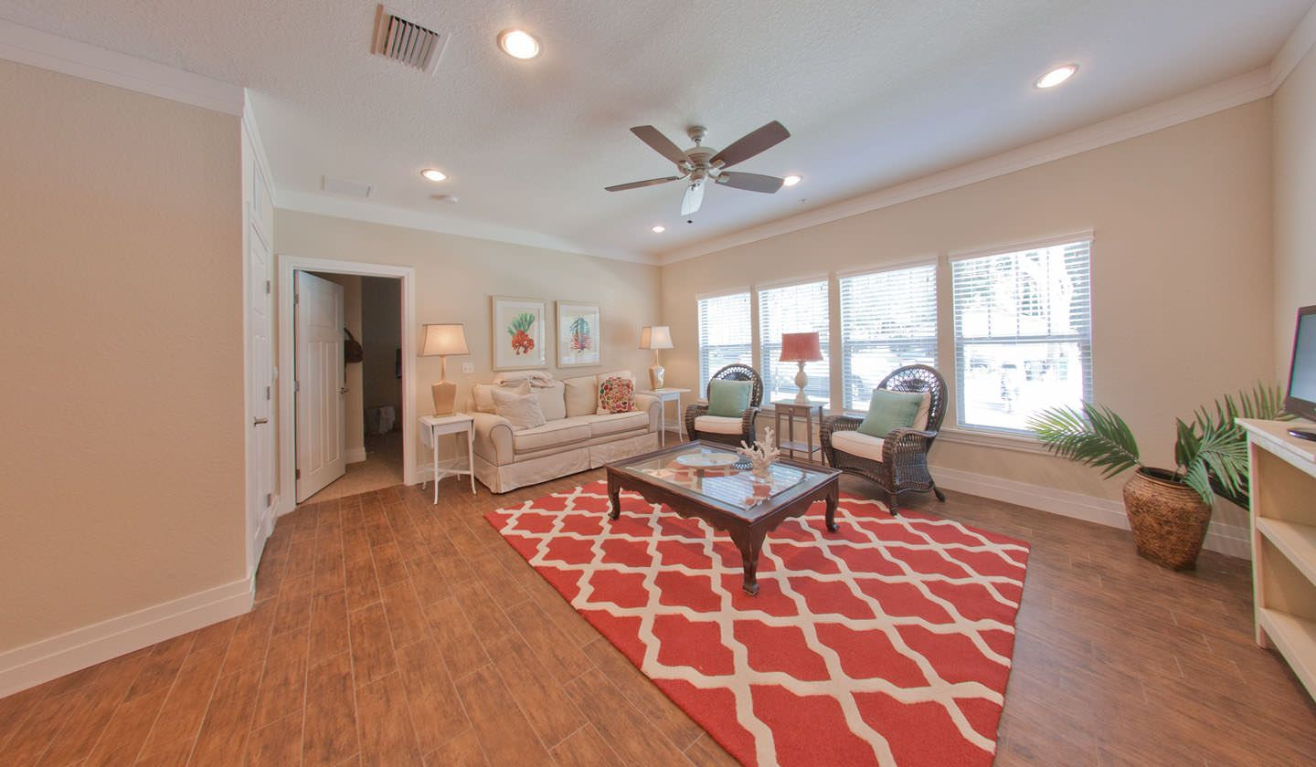 Living Room at Greystone Luxury Apartments in Gainesville
