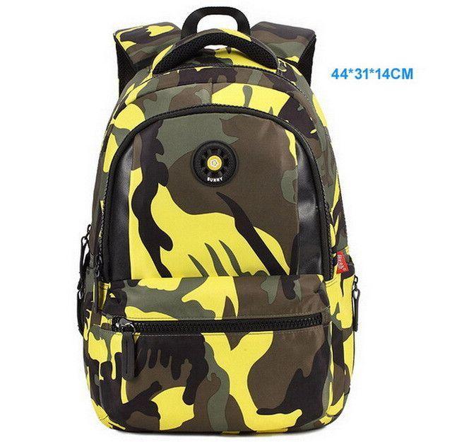 32c985ba21ea Top Brand Orthopedic Camouflage Children School Bags Backpack Mochila For  Teenagers Kids Boys Girls Laptop Bag Knapsack Satchel