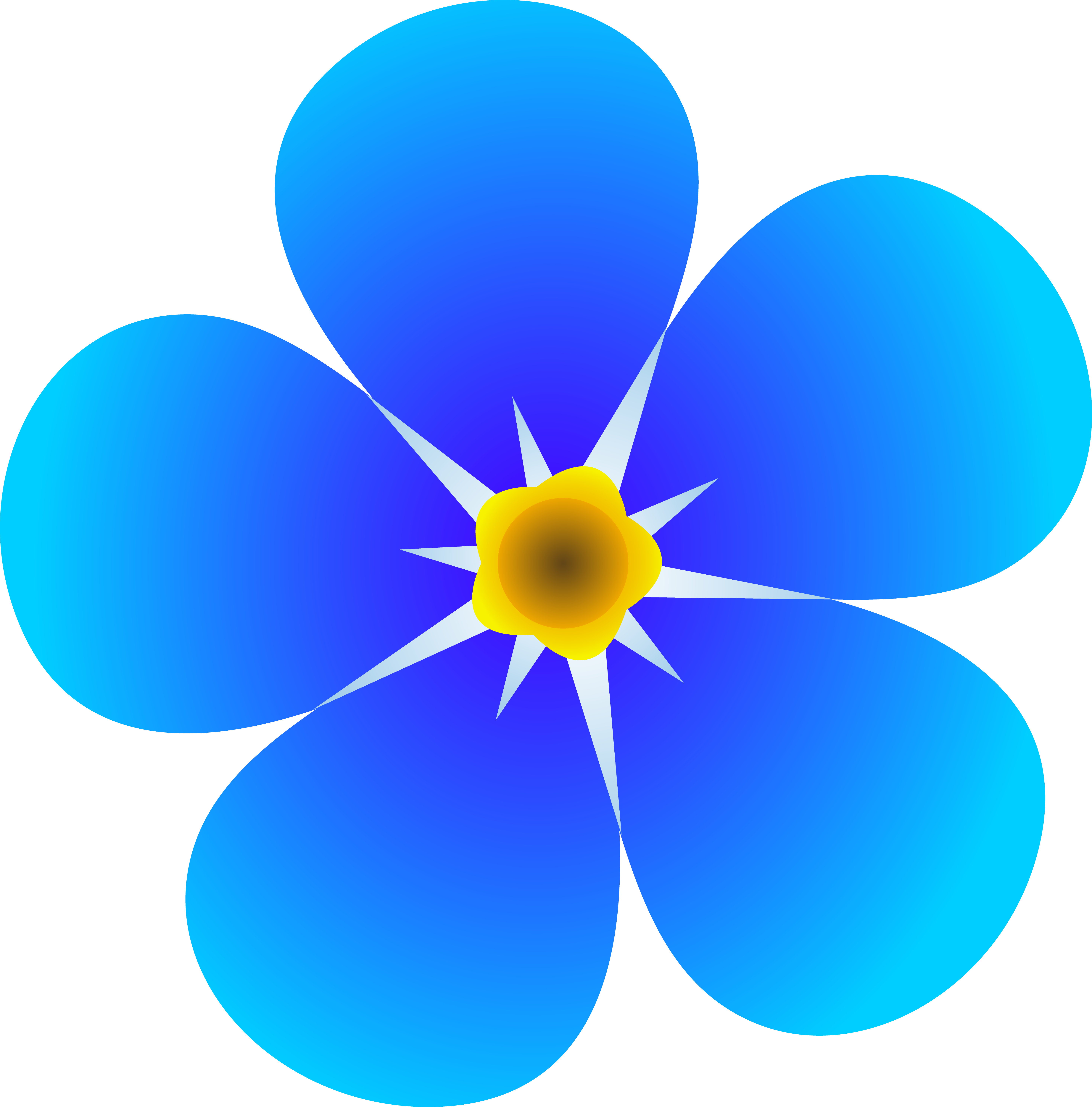 art flowers pictures single forget me not flower free clip art rh pinterest co uk animated flower cartoon clip art cartoon flowers clip art free