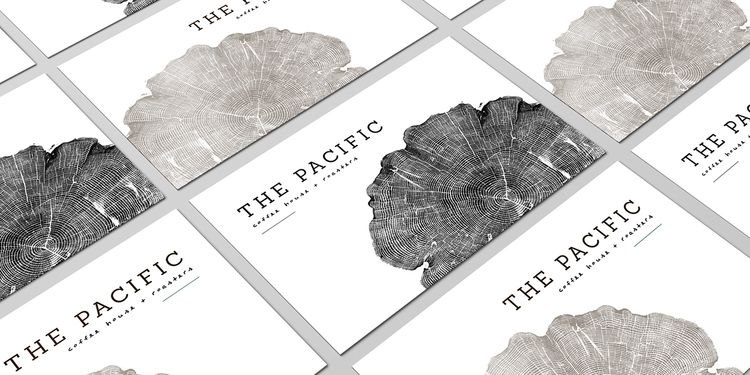 The Pacific Northwest definitely takes their coffee seriously, so it's only  natural the landscape and atmosphere of the area would be inspiration for a  coffee shop. KL Grafik designed the branding and packaging for The Pacific,  a mid-size coffee roaster and cafe.
