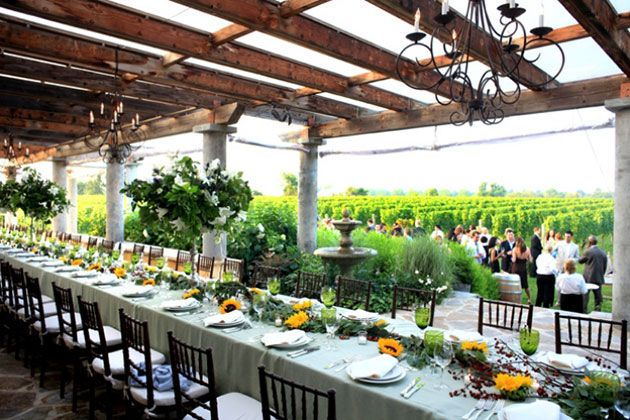 Creative Wedding Ideas Wolffer Estate