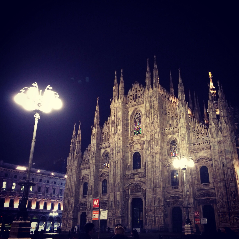 Milan, Italy | Duomo | ph. Mauro Ciullo | tonight I'm sleeping in front of it♥