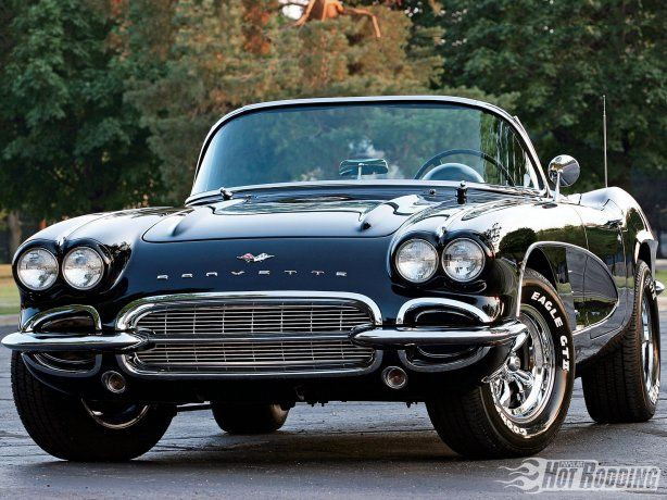 1961 Corvette...the year i was born :)  very cool car!